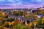 Luxembourg by Sunset